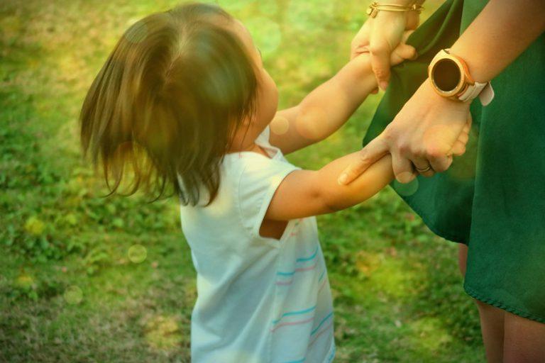 ילדה בגינה גילית חומסקי